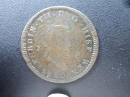 ESPAGNE : 8 MARAVEDIS  1820 J  KM 491    TB+/ TTB - [ 1] …-1931 : Royaume