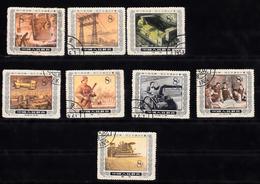 China 1955 Mi Nr 269 - 277 , Behalve Nr 272, Gestempeld, 5 Jaren Plan - 1949 - ... Volksrepubliek