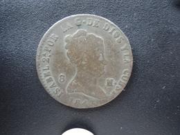 ESPAGNE : 8 MARAVEDIS  1843  KM 531.3     TB+ / TTB - [ 1] …-1931 : Royaume