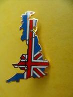Big Pins Pin's EGF Pays Angleterre Royaume Uni - Drapeau - Signé Fraisse - 4,7 Cm X 2,7 Cm - Bullfight - Corrida