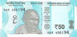 India - Pick New - 50 Rupees 2017 - Unc - Inde