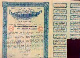 FANTAISIE (1925) « Ville De L'Amour » - Emprunt De 150000000 De Baisers (rare) - Actions & Titres