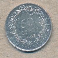 België/Belgique 50 Ct Albert1 1912 Fr Morin 302 (1378201) - 1909-1934: Albert I