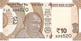 India - Pick New - 10 Rupees 2018 - Unc - Inde