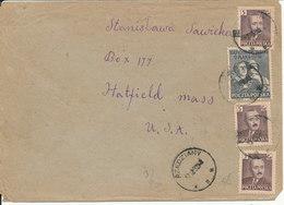 Poland Cover Sent To USA 17-12-1952 - 1944-.... Republic