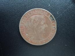 ESPAGNE : 2 1/2 CENTIMOS DE ESCUDOS  1868 OM  KM 634.1 *   TB+ / TTB - [ 1] …-1931 : Royaume
