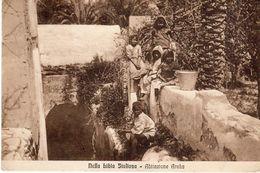 Nella Libia Italiana - Abitazione Araba - - Libya