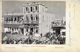 Nella Libia Italiana - Cirenaica - Bengasi - Municipio - Festa Dei Marabutti - - Libya