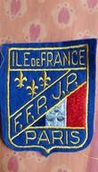 ECUSSON TISSU ILE DE FRANCE FFP JP PARIS PETANQUE ? BLASON   VOIR AUTRES MODELES DANS MA BOUTIQUE ET CELLE ULTIMA31 - Ecussons Tissu