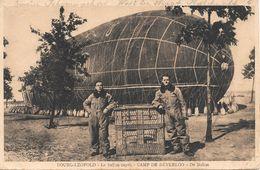 Leopoldsburg, Bourg-Léopold, De Luchtballon, Camp De Béverloo, Met Postzegel 1935. - Leopoldsburg (Kamp Van Beverloo)