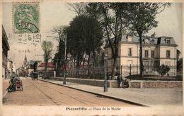 PIERREFITTE PLACE DE LA MAIRIE - Pierrefitte Sur Seine