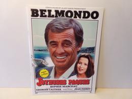 """Publicitaire Pour La Sortie Du Film """" Joyeuses Paques """" Avec Belmondo - Magazines"""