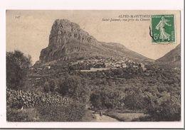 Saint Jeannet : Vue Générale Prise Du Chemin - Vignes Et Restanques - 1909 - - Vence