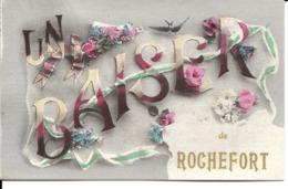 """17 - Rochefort - Carte Fantaisie """"Un Baiser De Rochefort"""" - Ile D'Oléron"""