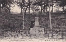 83 / LA ROQUEBRUSSANNE AMPHITHEATRE ET TERRE PLEIN DE ND DE L'INSPIRATION - La Roquebrussanne