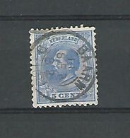 1872 / 88   N° 19   GUILLAUME III    OBLIT DOS CHARNIERE - Used Stamps