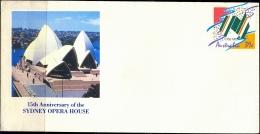 SYDNET OPERA HOUSE-PREPAID-PRESTAMPED COVER-AUSTRALIA-UNUSED-ABC-47 - Other