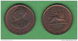 Etiopia Ethiopia 10 Birr 1944 Menelik - Ethiopia
