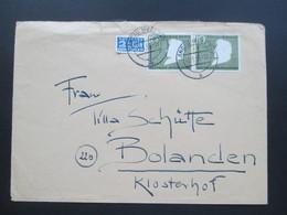 BRD 1956 Nr. 229 MeF Fernbrief Landau (Pfalz) Nach Bolanden. - BRD