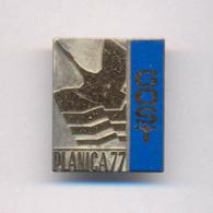 SKI JUMPING SLOVENIA PLANICA 1977. GOST BADGE - Winter Sports