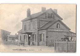 CPA 80 Chepy Valines La Gare - France