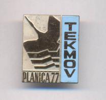 SKI JUMPING SLOVENIA PLANICA 1977. TEKMOV BADGE - Winter Sports