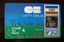 Carte Bancaire Crédit Du Nord - France