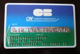 Carte Bancaire Crédit Agricole - France