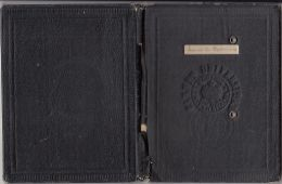 STUDENT SCHOOL REPORT BOOK, STUDENT PICTURE, AVIATION AND REVENUE STAMPS, GRADES, 1939, ROMANIA - Diploma & School Reports