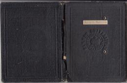 STUDENT SCHOOL REPORT BOOK, STUDENT PICTURE, AVIATION AND REVENUE STAMPS, GRADES, 1939, ROMANIA - Diplomi E Pagelle