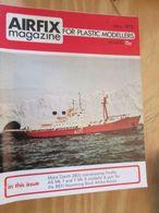 3945 2011 RARE En France : Revue Mythique De Maquettisme Des Années 60/70 AIRFIX MAGAZINE De Mai 1973 , Valait Quand Mêm - Magazines