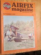 3945 2011 RARE En France : Revue Mythique De Maquettisme Des Années 60/70 AIRFIX MAGAZINE De Septembre 1979  , Valait Qu - Magazines
