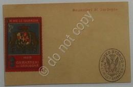 Erinnofilia - Regno - Cartolina Postale Con Chiudilettera Granatieri Di Sardegna - Italia