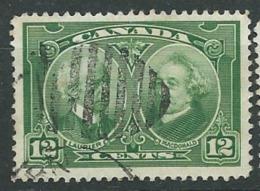 Canada   -  Yvert N °  127 Oblitéré   -  Pa11902 - Gebruikt