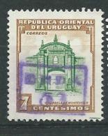 Uruguay   -- Yvert N° 628 Oblitéré        Pa11922 - Uruguay