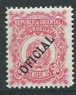 Uruguay   -  Service - Yvert N° 98 *       Pa11926 - Uruguay