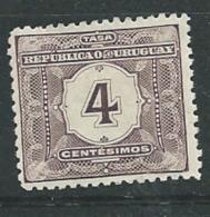 Uruguay   - Taxe   -  Service - Yvert N° 3 *       Pa11927 - Uruguay