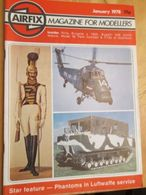 3945 2011 RARE En France : Revue Mythique De Maquettisme Des Années 60/70 AIRFIX MAGAZINE De Janvier 1978  , Valait Quan - Magazines