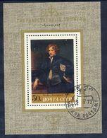 SOVIET UNION 1972 Van Dyck Self-portrait Block Used.  Michel Block 78 - 1923-1991 USSR