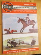 3945 2011 RARE En France : Revue Mythique De Maquettisme Des Années 60/70 AIRFIX MAGAZINE De Janvier 1979  , Valait Quan - Magazines