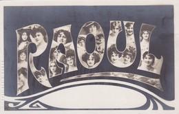CARTE PRENOM RAOUL / JEUNES FEMMES - Firstnames