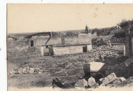 02- Bieuxy   Ruines - Frankreich