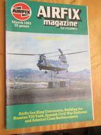 3945 2011 RARE En France : Revue Mythique De Maquettisme Des Années 60/70 AIRFIX MAGAZINE De Mars 1983  , Valait Quand M - Magazines