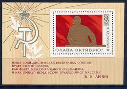 SOVIET UNION 1970 October Revolution Block MNH / **.  Michel Block 65 - 1923-1991 USSR