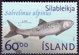 ISLANDE 2002  -  YT 942 -  Salvelinus Alpinus - Saumon -  Oblitéré - Oblitérés