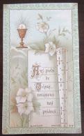 Image Pieuse / Holy Card - Souvenir De Première Communion - Blanchard Orléans N°2118 - Le 3 Mai 1900 - Images Religieuses