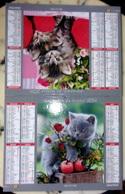 Calendrier - Almanach Du Facteur 2014 - Cher - CHATONS - Calendars