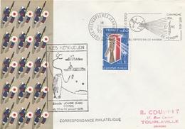 Kerguelen 1978 - Escale Porte-hélicoptères Jeanne D'Arc - Poste Navale Navy - TAAF - Covers & Documents