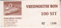 1994  SLOVENIJA  BON  100  TOLARJEV - Slovenia