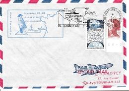 Sainte-Hélène 1984 - Escale Porte-hélicoptères Jeanne D'Arc - Poste Navale Navy - Helena - Napoléon - Saint Helena Island